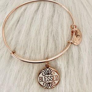 Alex & Ani Rose Gold Blessed Bracelet 🙌🏻